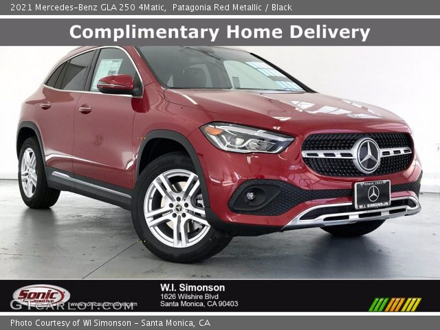2021 Mercedes-Benz GLA 250 4Matic in Patagonia Red Metallic