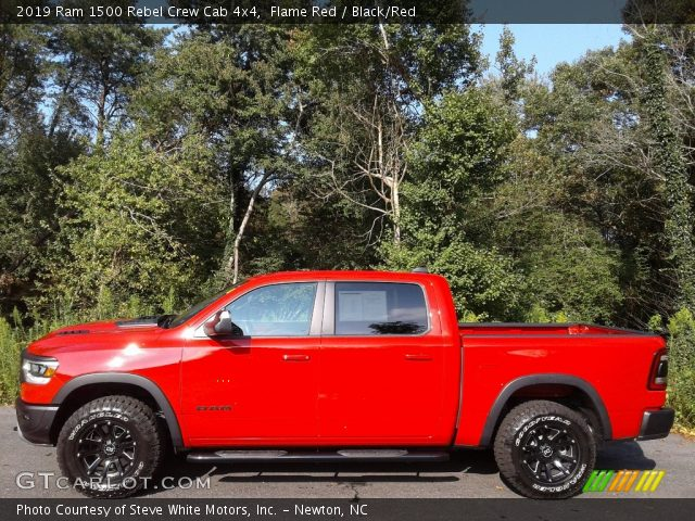 2019 Ram 1500 Rebel Crew Cab 4x4 in Flame Red