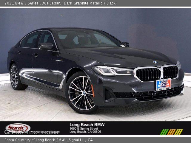 2021 BMW 5 Series 530e Sedan in Dark Graphite Metallic