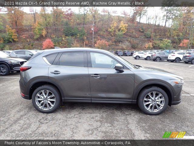2021 Mazda CX-5 Grand Touring Reserve AWD in Machine Gray Metallic