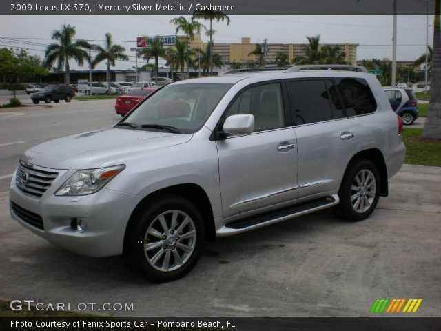 mercury silver metallic 2009 lexus lx 570 cashmere. Black Bedroom Furniture Sets. Home Design Ideas