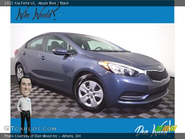 2015 Kia Forte LX in Abyss Blue