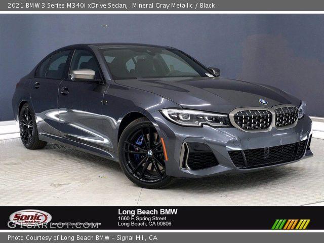 2021 BMW 3 Series M340i xDrive Sedan in Mineral Gray Metallic