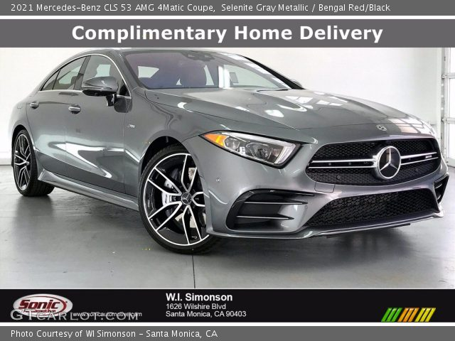 2021 Mercedes-Benz CLS 53 AMG 4Matic Coupe in Selenite Gray Metallic