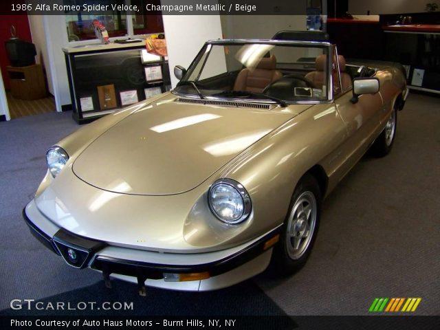 1987 Alfa Romeo Spider  Overview  CarGurus