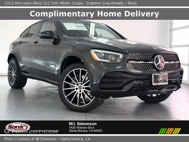 2021 Mercedes-Benz GLC 300 4Matic Coupe in Graphite Gray Metallic
