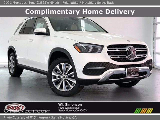 2021 Mercedes-Benz GLE 350 4Matic in Polar White