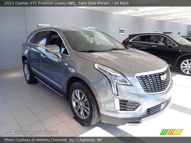 2021 Cadillac XT5 Premium Luxury AWD in Satin Steel Metallic