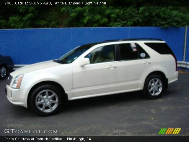 2005 Cadillac SRX V6 AWD in White Diamond