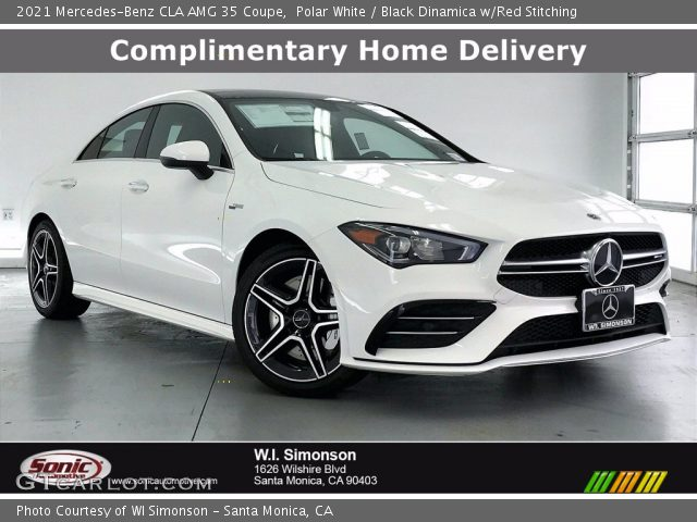 2021 Mercedes-Benz CLA AMG 35 Coupe in Polar White