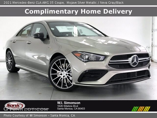 2021 Mercedes-Benz CLA AMG 35 Coupe in Mojave Silver Metallic