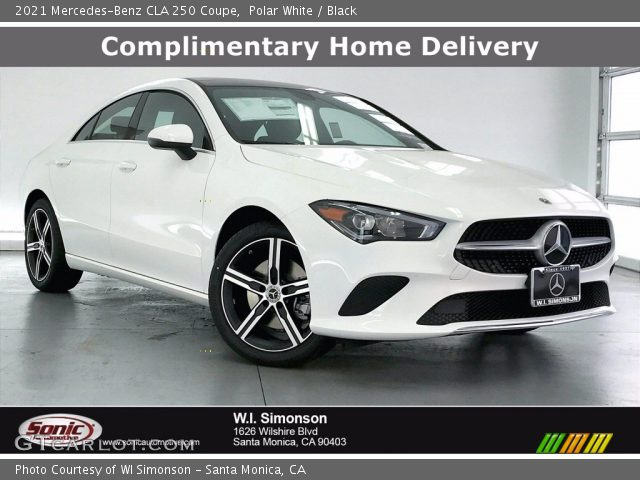 2021 Mercedes-Benz CLA 250 Coupe in Polar White