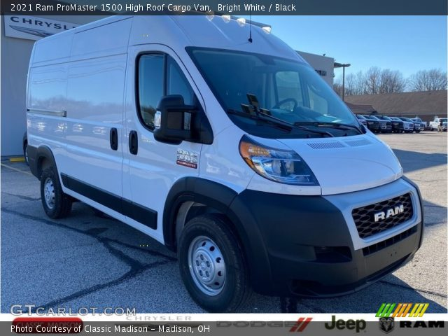2021 Ram ProMaster 1500 High Roof Cargo Van in Bright White