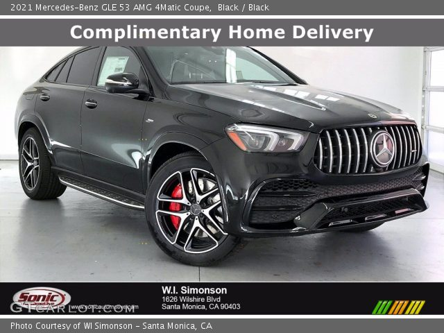 2021 Mercedes-Benz GLE 53 AMG 4Matic Coupe in Black