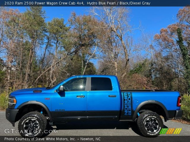 2020 Ram 2500 Power Wagon Crew Cab 4x4 in Hydro Blue Pearl