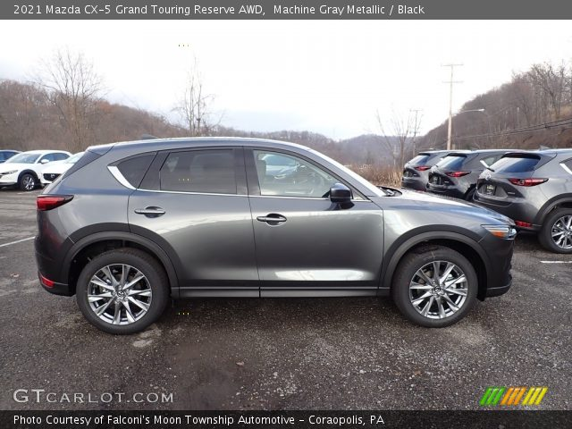 2021 Mazda CX-5 Grand Touring Reserve AWD in Machine Gray Metallic