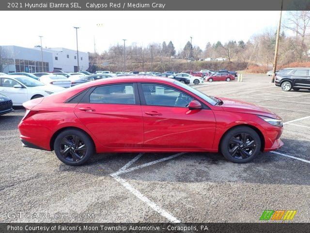 2021 Hyundai Elantra SEL in Calypso Red