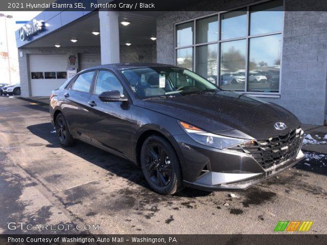2021 Hyundai Elantra SEL in Portofino Gray