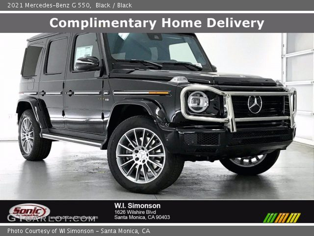 2021 Mercedes-Benz G 550 in Black