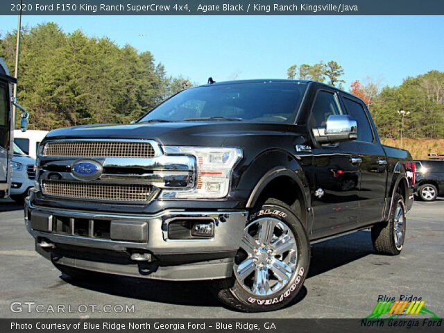 2020 Ford F150 King Ranch SuperCrew 4x4 in Agate Black