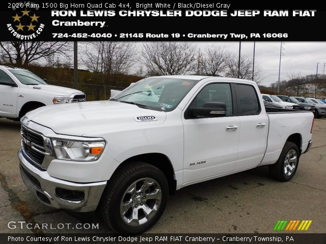 2020 Ram 1500 Big Horn Crew Cab 4x4 in Bright White