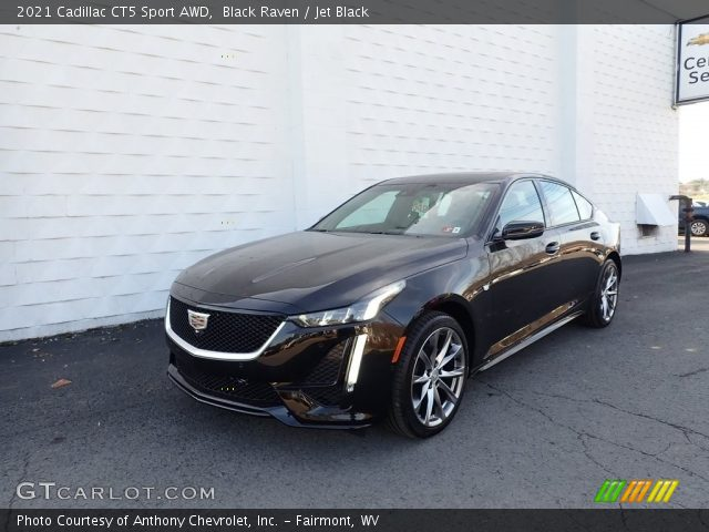 2021 Cadillac CT5 Sport AWD in Black Raven