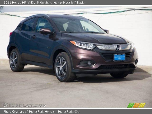 2021 Honda HR-V EX in Midnight Amethyst Metallic