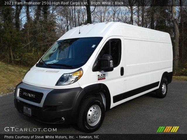 2021 Ram ProMaster 2500 High Roof Cargo Van in Bright White
