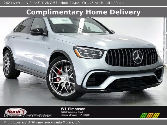 2021 Mercedes-Benz GLC AMG 63 4Matic Coupe in Cirrus Silver Metallic
