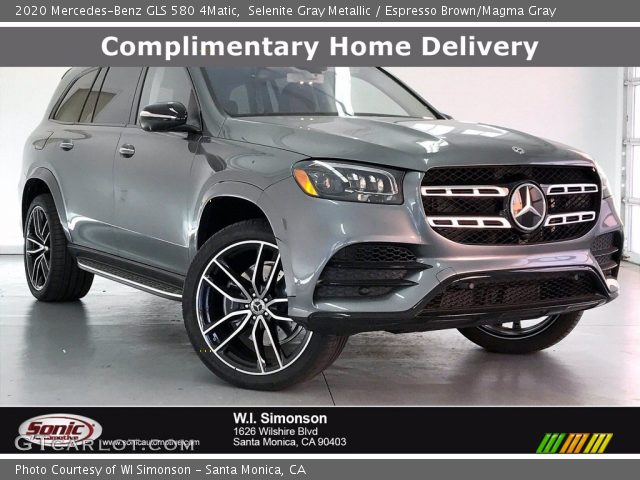2020 Mercedes-Benz GLS 580 4Matic in Selenite Gray Metallic