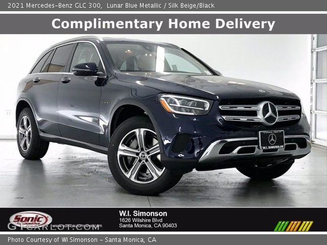 2021 Mercedes-Benz GLC 300 in Lunar Blue Metallic