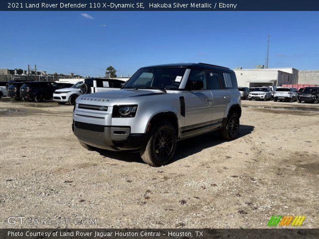 Hakuba Silver Metallic - 2021 Land Rover Defender 110 X ...