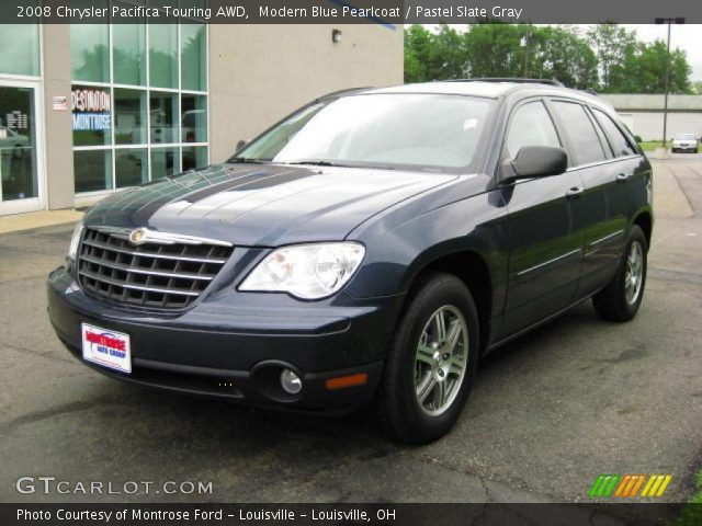 modern blue pearlcoat 2008 chrysler pacifica touring awd. Black Bedroom Furniture Sets. Home Design Ideas