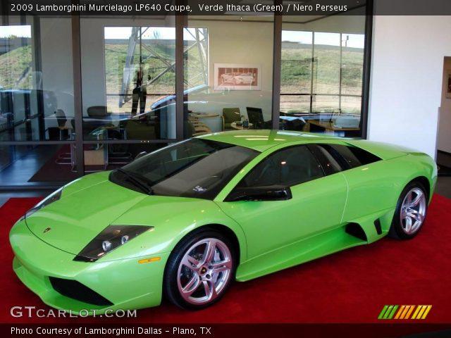 2009 Lamborghini Murcielago LP640 Coupe in Verde Ithaca (Green)