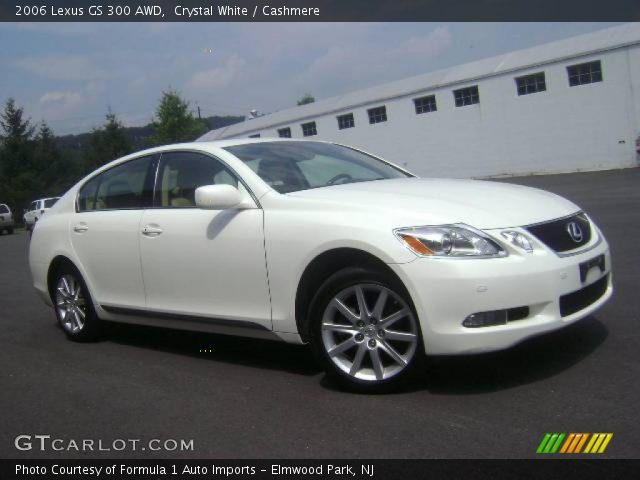 crystal white 2006 lexus gs 300 awd cashmere interior vehicle archive 14217763. Black Bedroom Furniture Sets. Home Design Ideas