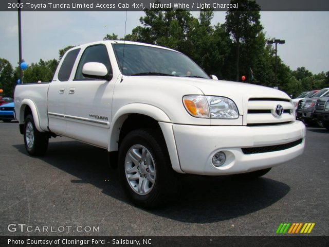 natural white 2005 toyota tundra limited access cab 4x4 light charcoal interior gtcarlot. Black Bedroom Furniture Sets. Home Design Ideas