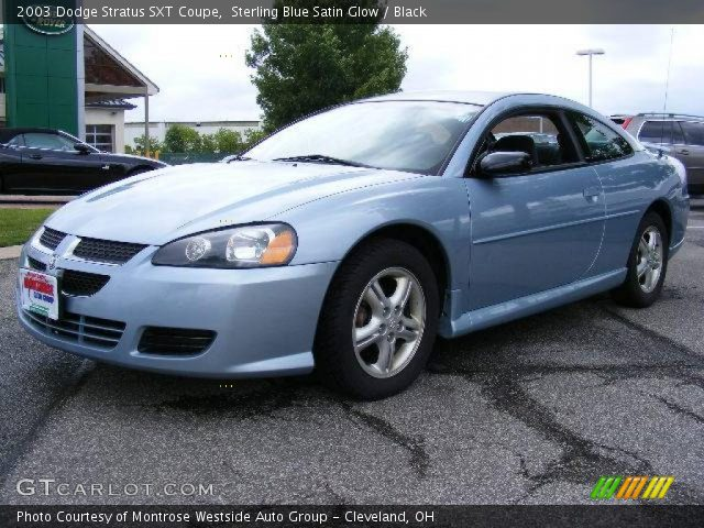 2003 Dodge Stratus Coupe. 2003 Dodge Stratus SXT Coupe