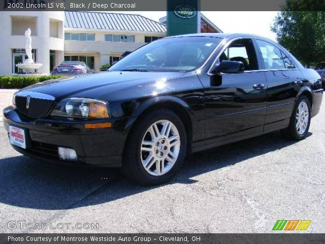 Lincoln Ls V8 Engine. Black 2002 Lincoln LS V8 with