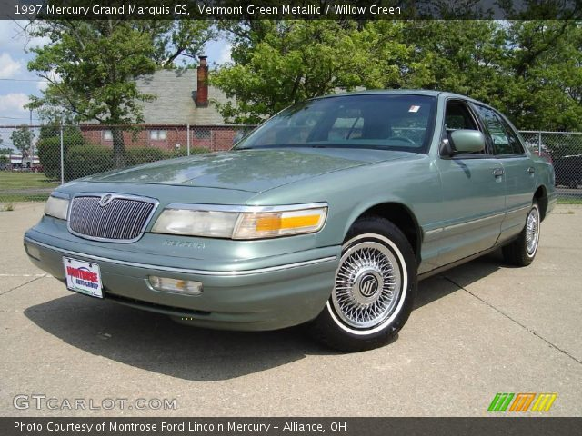 vermont green metallic 1997 mercury grand marquis gs with willow green. Black Bedroom Furniture Sets. Home Design Ideas
