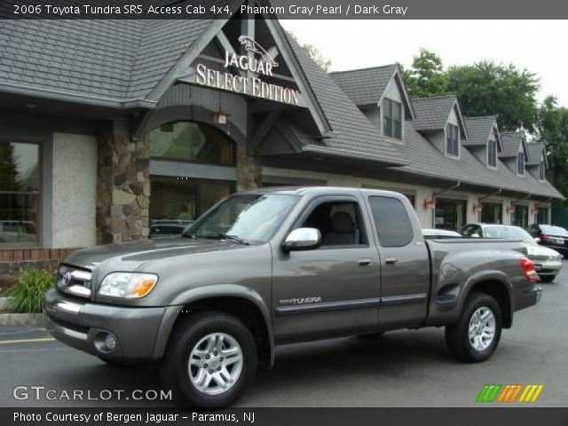 phantom gray pearl 2006 toyota tundra sr5 access cab 4x4 dark gray interior. Black Bedroom Furniture Sets. Home Design Ideas