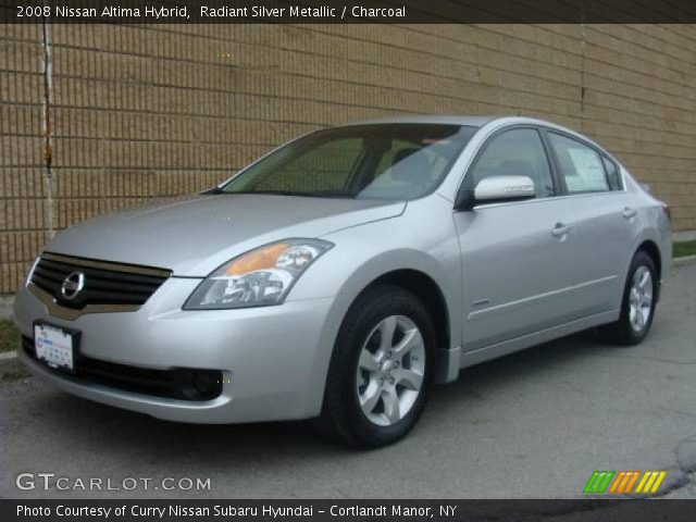radiant silver metallic 2008 nissan altima hybrid. Black Bedroom Furniture Sets. Home Design Ideas