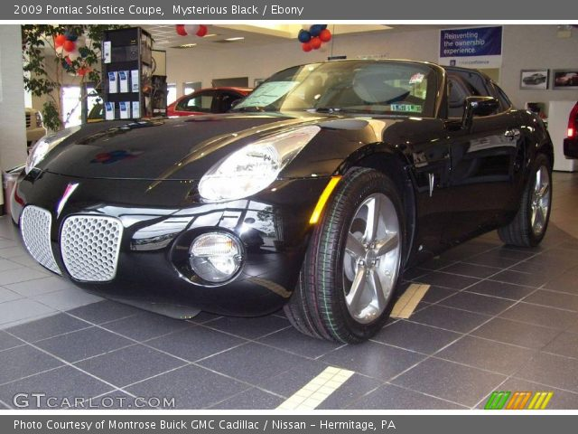 2009 Pontiac Solstice Coupe in Mysterious Black