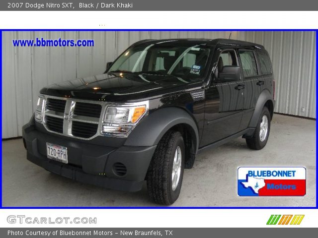 black 2007 dodge nitro sxt dark khaki interior. Black Bedroom Furniture Sets. Home Design Ideas