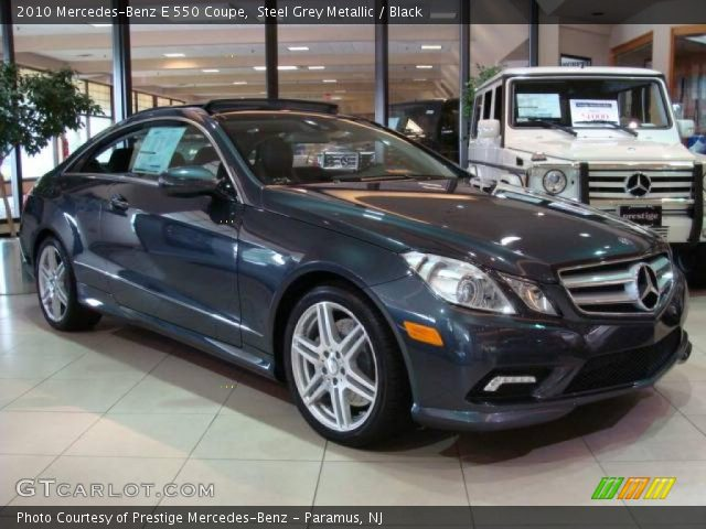 2010 Mercedes-Benz E 550 Coupe in Steel Grey Metallic