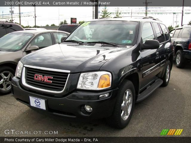 carbon metallic 2003 gmc envoy sle 4x4 medium pewter. Black Bedroom Furniture Sets. Home Design Ideas