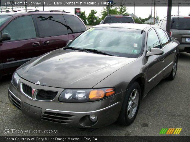 Pontiac Bonneville 2001. 2001 Pontiac Bonneville SE