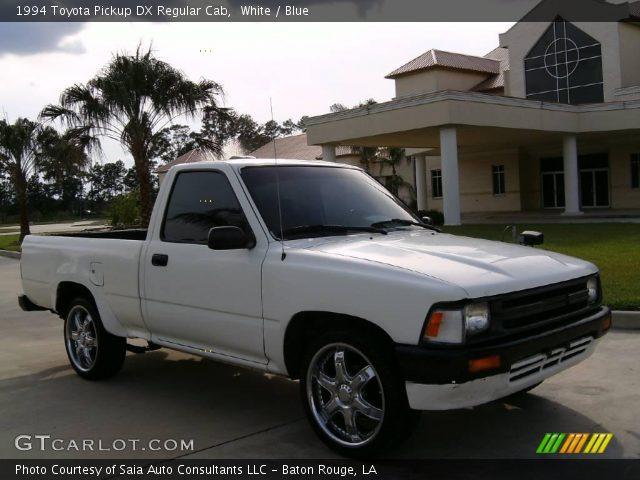 1994 Toyota Pickup DX Regular Cab in White