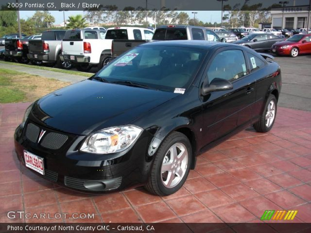 2009 Pontiac G5  in Black