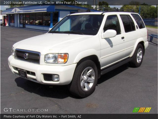 glacier white pearl 2003 nissan pathfinder le charcoal. Black Bedroom Furniture Sets. Home Design Ideas