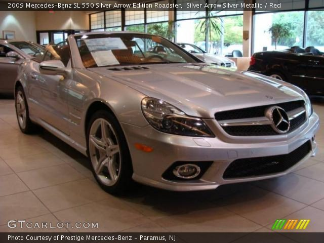 2009 Mercedes-Benz SL 550 Silver Arrow Edition Roadster in Silver Arrow Silver Metallic